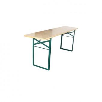 Biertafel / picnicktafel smal 220x50cm