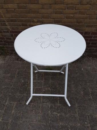 Bistrotafel rond Ø 60cm wit