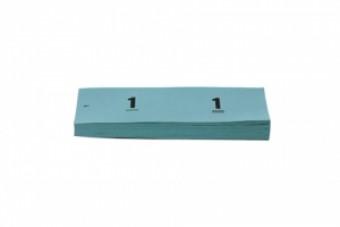 Garderobenummers papier