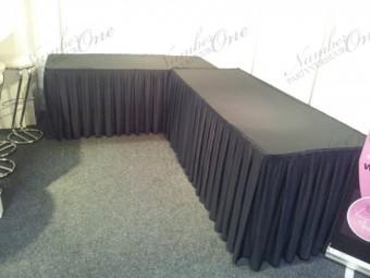 Combirok zwart 200x80x73cm