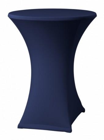 Statafelrok donkerblauw stretch